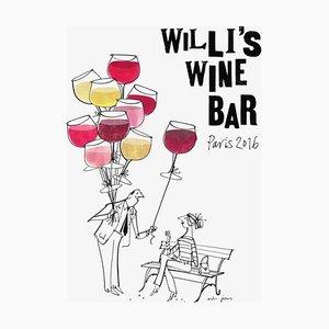 2016 MH Jeeves Poster von Willis Wine Bar