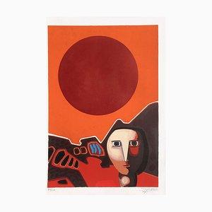 Personnage au soleil by Antonio Guanse