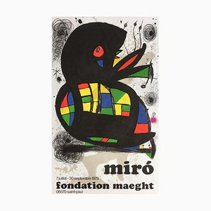 Expo 79 - Fondation Maeght par Joan Miro