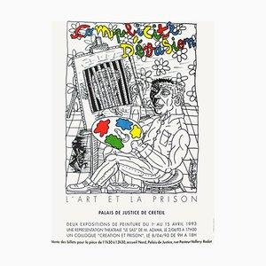Expo 1993, L'Art et la Prison by Robert Combas