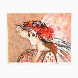Le chapeau fleuri by Sachiko Imai