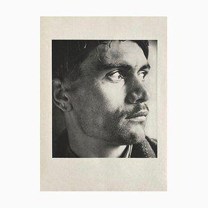 Portrait of a Young Cretan Shepherd by Herbert List for Revue Verve