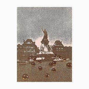 Dlm191, Place de la République by Pol Bury