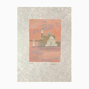 L'isola di San Giorgio al mattino di Bernard Cathelin