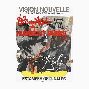 Affiche Expo 70 Vision Nouvelle Hommage à Dürer par Salvador Dali