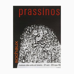 Affiche Expo 70 House of Arts and Leisure Sochaux par Mario Prassinos