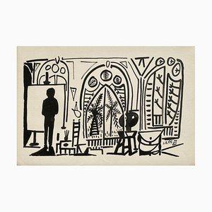 Carnet de Californie 09 (Arches) by Pablo Picasso