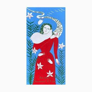 Marche 1982 Pour le Désarmement Poster von Juliette Ramade