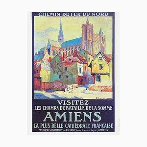 Affiche Visitez Amiens D'après Historial De La Grande Guerre par Julien Lacaze