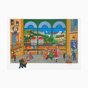 La Gare by William Deliege