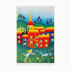 Le petit village by Eliza