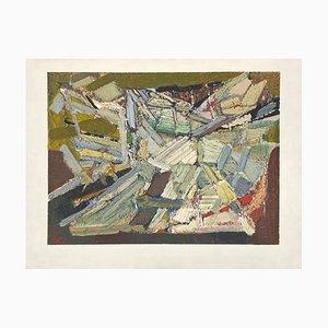 Composition abstraite by Nicolas De Stael