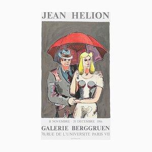 Affiche Expo 86 Gallery Berggruen par Jean Helion