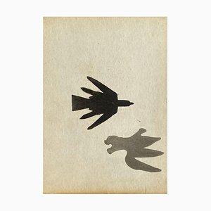 Oiseaux par Georges Braque