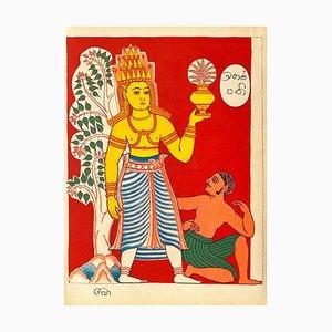 Brihaspati God of the Planet, Indian Pantheon, Illuminations Verve