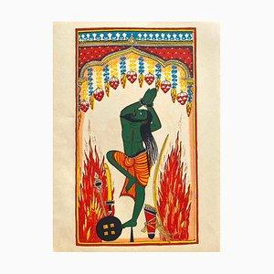 Demons of Ceylan, Indian Pantheon by Illuminations Verve