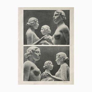 Aristide Maillols Sculptures by Erwin Blumenfeld