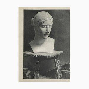 Aristide Maillols Workshop by Brassaï