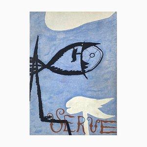 Poissons par Georges Braque
