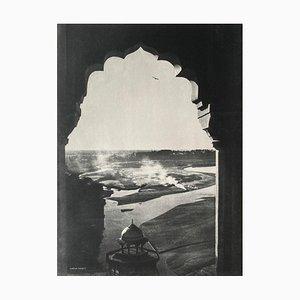 Paysage Indien par Gaetan Fouquet pour Revue Verve