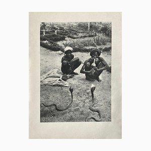 The Snake Charmer by Gaetan Fouquet