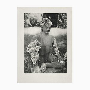 Oriental Sculpture by André Zucca for Revue Verve