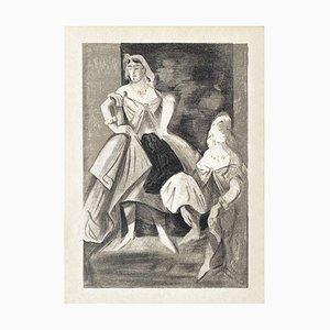 Dancer's Portrait by Constantin Guys