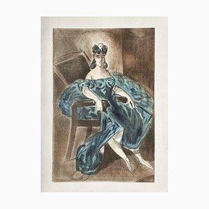Woman's Portrait by Constantin Guys