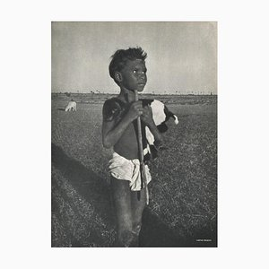The Young Indian Boy by Gaetan Fouquet