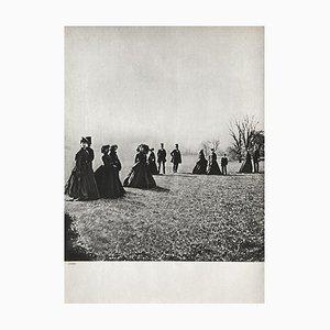 Walk in the Park by Eugene Disderi, 1860