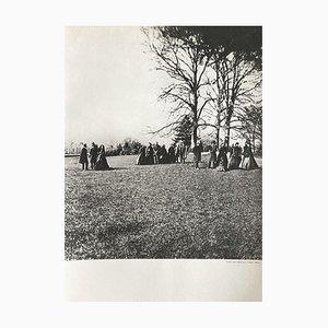 Park of Neuilly by Eugene Disderi for Revue Verve, 1860s