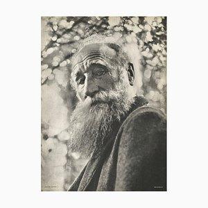 Aristide Maillol's Portrait by Joseph Breitenbach for Revue Verve