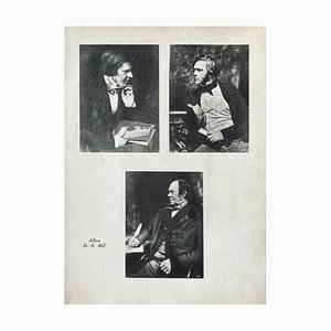 Gallery of Writers by David Octavius Hill