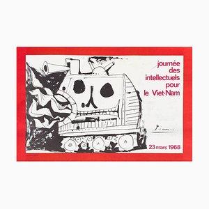 Affiche Expo 68 Journée Des Intellectuels Pour Le Vietnam par Pablo Picasso