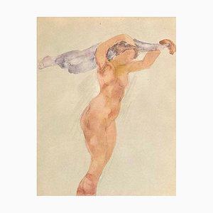 Nu II by Auguste Rodin
