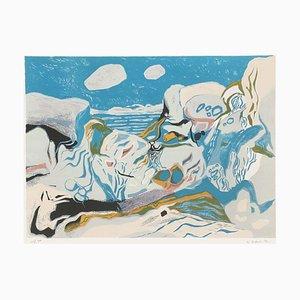 Sur Les Rochers by Gabriel Godard