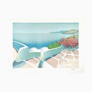 Paysage de Grèce II par Marc Gratas