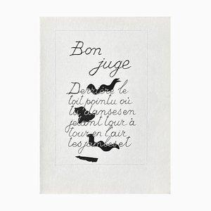 DLM117 Bon juge by Georges Braque