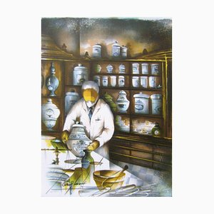 Métiers Le Pharmacien by Raymond Poulet