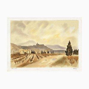 Les Vignes En Provence by Yves De Mare