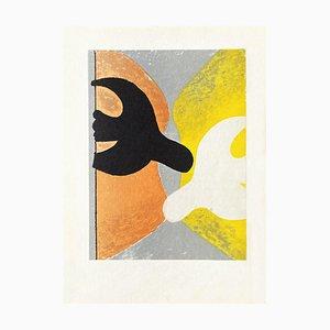 DLM117 Couple D'oiseaux by Georges Braque