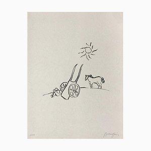 La charette II by Pierre Boncompain