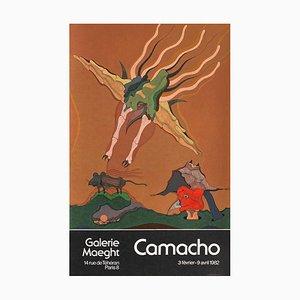 Expo 82 - Galerie Maeght par Jorge Camacho