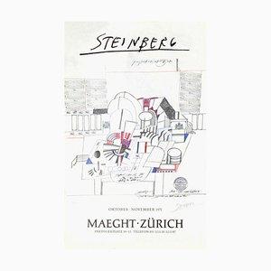 Expo 71 - Maeght Zürich par Saul Steinberg