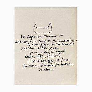Entre-Deux - Le signe du taureau von Le Corbusier