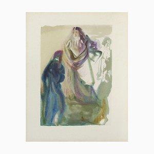 Divine Comédie Paradis 28 - La marche vers Dieu by Salvador Dali
