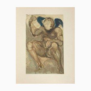 Divine Comédie Purgatoire 15 - L'Envie par Salvador Dali