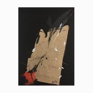 Eclatement d'une grenade par Jean Miotte