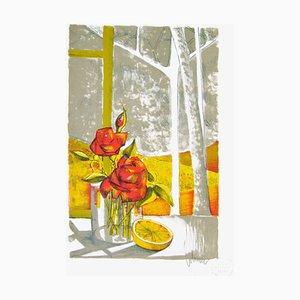 Les Roses sur la Tisch von Clodine Colomer