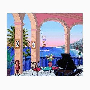 Terrasse au piano by François Fanch Ledan